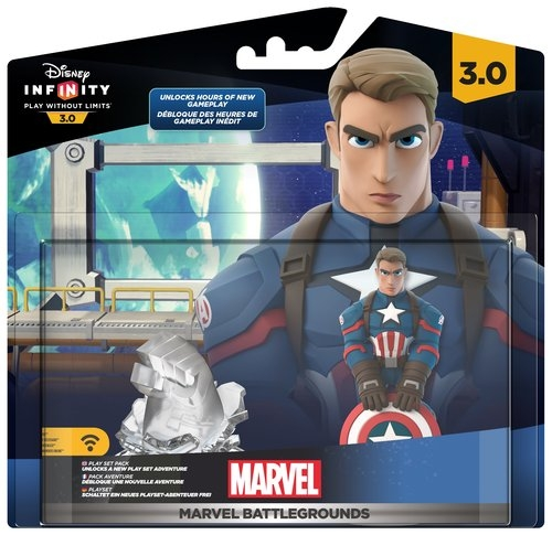 Disney infinity 3.0: świat Marvel battleground