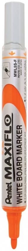 Marker MWL5S suchościeralny cienki pomarańczowy F