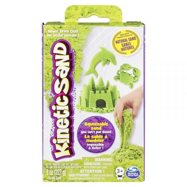 Piasek kinetyczny KINETIC SAND Małe opakowania, zielony (6033332/20080708)