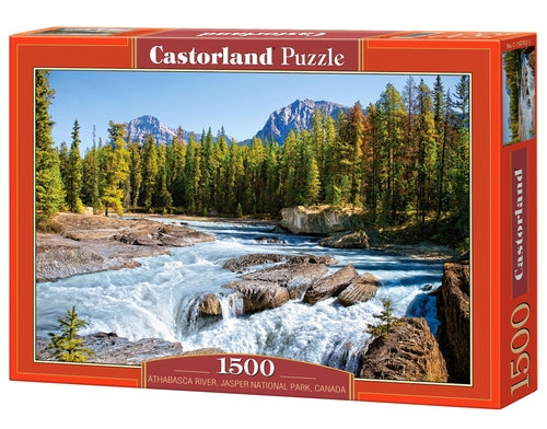 Puzzle Athabasca River, Jasper National Park, Canada 1500 (150762)