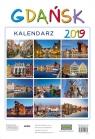 Kalendarz ścienny 2019 Gdańsk