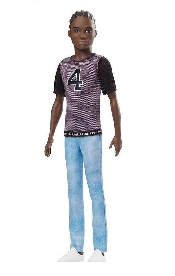 Barbie Fashionistas: Stylowy Ken - lalka nr 130 (DWK44/GDV13)
