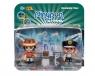 PinyPon Action - 2 pack figurek - Policjant i Podróżnik (FPP16056/63762)