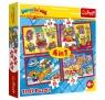 Puzzle 4w1: Super Zings - Tajni Szpiedzy (34376)