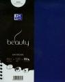 Kołonotatnik A5 Oxford beauty Daybook w kratkę 120 kartek niebieski