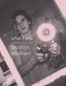 What I See Beckham Brooklyn