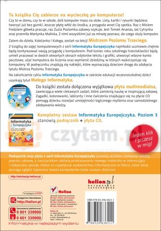 Informatyka Europejczyka poziom 3 z płytą CD Kiałka Danuta, Kiałka Katarzyna