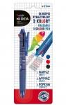 Długopis wymazywalny trzykolorowy Kidea (DRF-077762)
