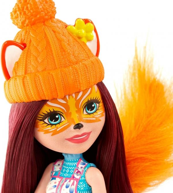 Enchantimals: Zimowe sanie - Felicity Fox i Flick (GJX31)