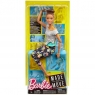 Lalka Barbie Made to Move - brunetka (FTG80/FTG82) od 3 lat