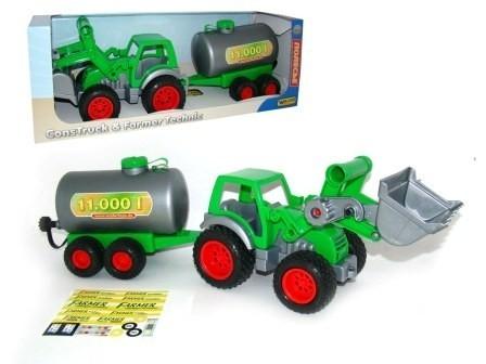 Traktor ładowarka z cysterną (37763)
