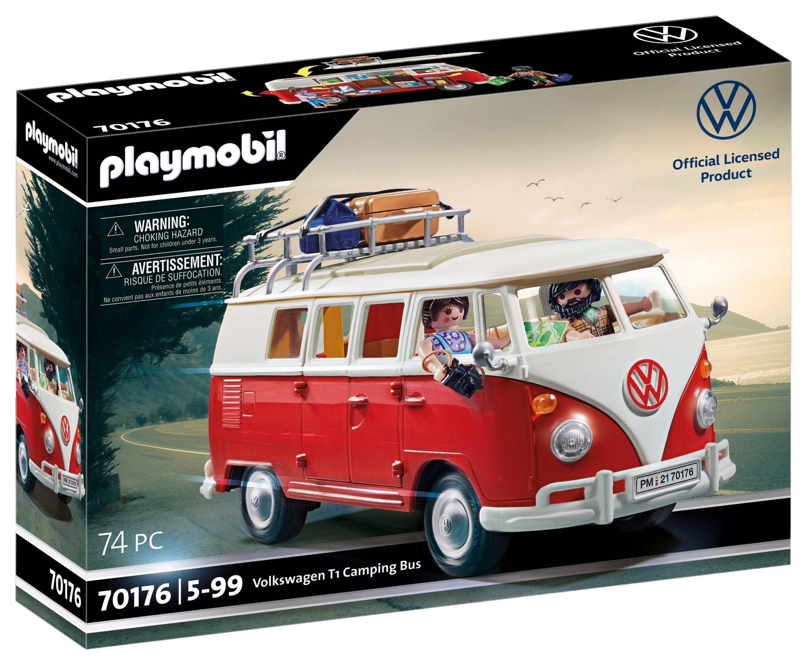 Playmobil VW: Volkswagen T1 Camping Bus (70176)