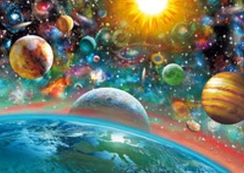 PQ Puzzle 1000 Przestrzeń kosmiczna
