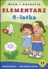 Elementarz 4-latka Wiem i potrafię Krassowska Dorota