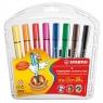 Flamastry Scribbi 8 kolorów STABILO