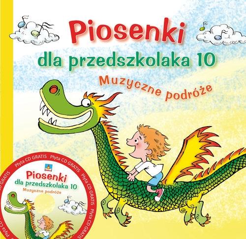 Piosenki dla przedszkolaka 10 Zawadzka Danuta, Gąsieniec Stefan