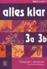Alles klar 3a 3b Podręcznik z ćwiczeniami Kurs dla początkujących + CD