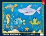 W oceanie - Puzzle Ramkowe - 6 elementów (31076)