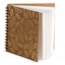 Album na spirali, 30 arkuszy 30x30cm - Złote liście (445152)