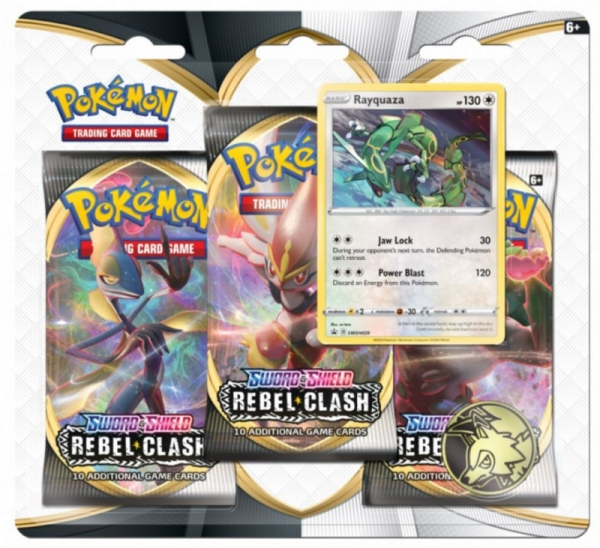 Karty Sword & Shield RC 3xBlis Rayquaza (6858B Rayquaza)