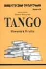 Biblioteczka Opracowań Tango Sławomira Mrożka