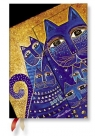 Kalendarz książkowy mini 2018 12M hor. Medit. Cats