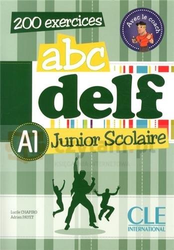 ABC DELF A1 junior scolaire książka + CD Chapiro Lucile, Payet Adrien