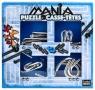 Łamigłówki metalowe 4 szt Puzzle mania niebieski