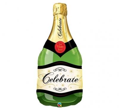 Balon foliowy Godan Butelka szampana 39cal (16122)
