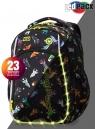 Coolpack - Strike S - Plecak Młodzieżowy  - Led Rockets (A18207)