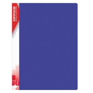 Teczka ofertowa A4/30 niebieska 620mic.Office Products 21123011-01 .