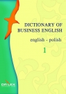 Dictionary of Business English English-Polish