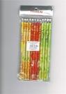 Ołówek z gumką - Owoce (HB)