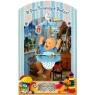 Karnet składany 3D - W Dniu 1 Urodzin. niebieski