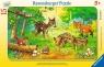 Puzzle ramkowe 15: Zwierzęta z lasu (6376) Wiek: 3+