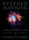 The Illustrated A Brief History of Time / The Universe in a Nutshell Hawking Stephen