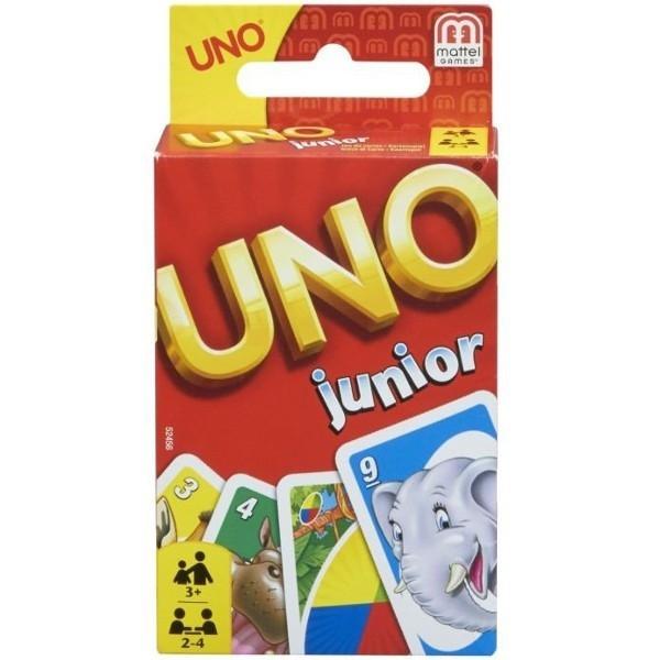 MATTEL Gra Uno Junior Di splay12 sztuk