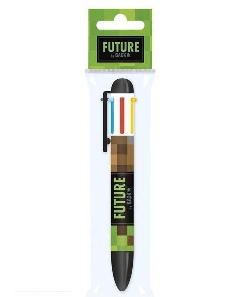 Długopis 6 kolorów BackUp Future DF 18 - Game (DRF-076765)