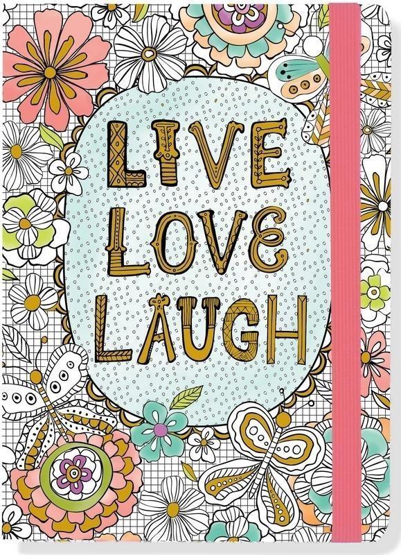 Notatnik Midi Żyj, Kochaj, Śmiej się
