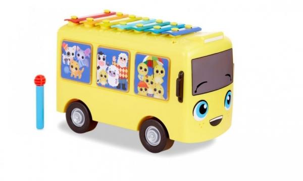Muzyczny autobus 3w1 Cymbałki LITTLE BABY BUM (653766PO)