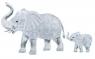 Crystal puzzle słonie
