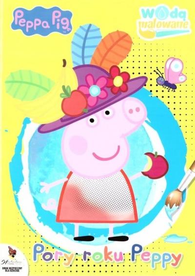 Peppa Pig. Wodą malowane nr 4: Pory roku Peppy Opracowanie zbiorowe
