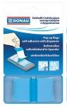 Zakładki indeksujące Donau samoprzylepne z dyspenserem 50 sztuk niebieskie