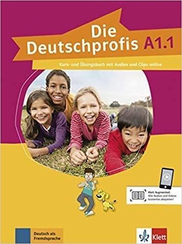 Die Deutschprofis A1.1 KB+UB + audio online praca zbiorowa