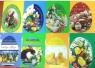 Karnet wycinany B6 Wielkanoc