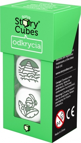 Story Cubes: Odkrycia Rory O'Connor