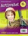 Activate B1 (PET) WB eText AccCard Jill Florent, Suzanne Gaynor