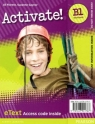 Activate! B1. Workbook. eText Access Card Jill Florent, Suzanne Gaynor