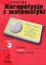 Zeszyt 3 gimnazjum Korepetycje z matematyki