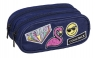 Coolpack - Clever - Piórnik szkolny - Badges Girls Denim (93767CP)